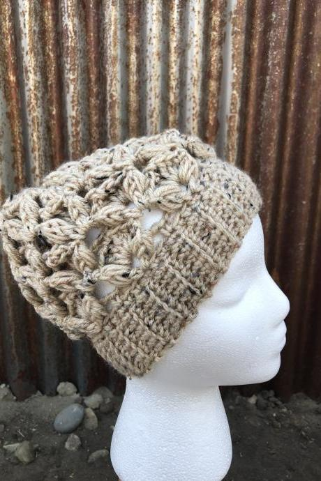 Hats, Winter Women Cozy and Warm Crochet handmade beanie/hat Accessories