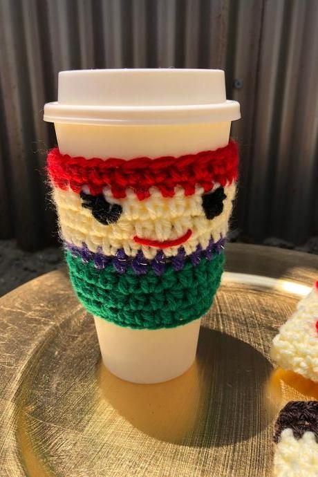 Little mermaid inspired cup cozy crochet