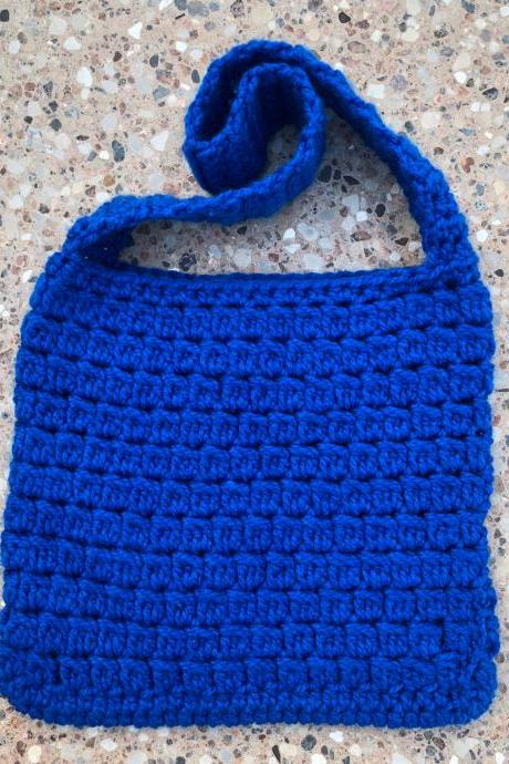 Crochet book sleeve/book bag